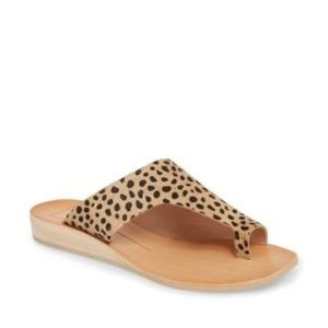 Dolce Vita 'hazle' asymmetrical toe loop sandal
